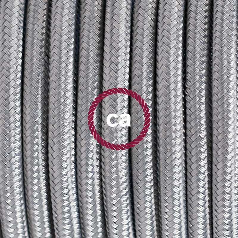 Komplet s prekidačem RM02 Srebrni - 1,8 m. odaberite boju prekidača i utikača!