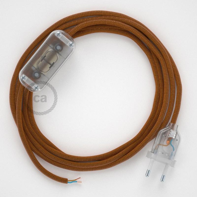 Komplet s prekidačem RM22 Whiskey - 1,8 m. odaberite boju prekidača i utikača!