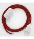 Komplet s prekidačem RT94 Crveni Vrag - 1,8 m. odaberite boju prekidača i utikača!