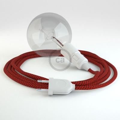 """Kreirajte svoju viseću lampu """"Snake"""" RT94 Crveni Vrag rajon i unesite svjetlo gdje god želite."""