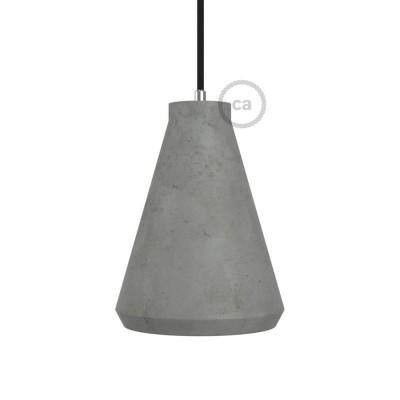 Imbuto, sjenilo iz cementa s obujmicom i grlom E27