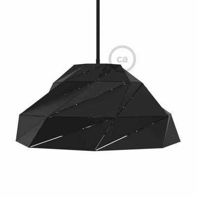 Nuvola - crno neprozirno metalno sjenilo s E27 grlom