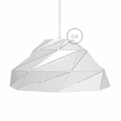 Nuvola - sjajeće bijelo metalno sjenilo s E27 grlom