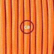 Komplet s podnim prekidačem RM15 Narančasti rajon - 3 m. Odaberite boju prekidača i utikača!