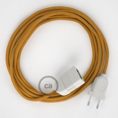 Produžni kabel za napajanje (2P 10A) Zlatni Rajon RM05 - Made in Italy