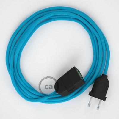 Produžni kabel za napajanje (2P 10A) Tirkizni Rajon RM11 - Made in Italy