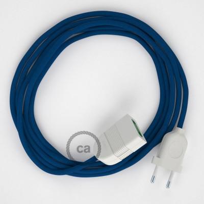 Produžni kabel za napajanje (2P 10A) Plavi Rajon RM12 - Made in Italy