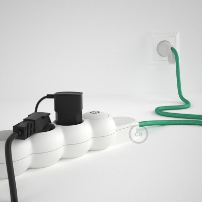 Razdjelnik s električnim tekstilnim kabelom Opal RH69 i s udobnim šuko utikačem