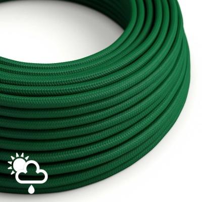 Vanjski okrugli električni kabel SM21 - tamno zelena