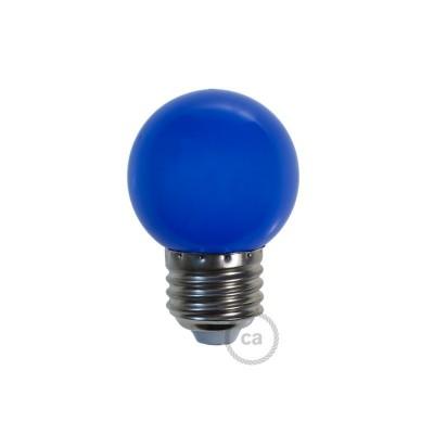 Dekorativna G45 Miniglobe LED žarulja 1W E27 2700K - Plava