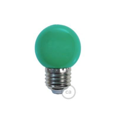 Dekorativna G45 Miniglobe LED žarulja 1W E27 2700K - Zelena