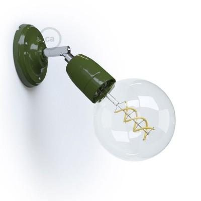 Fermaluce 90° Color Block prilagodljiva porculanska reflektor lampa u jarkim bojama
