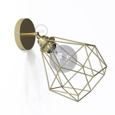 Fermaluce Metallo 90° Urban, prilagodljiva metalna reflektor lampa sa sjenilom Diamond