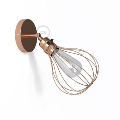 Fermaluce Metallo 90° Urban, prilagodljiva metalna reflektor lampa sa sjenilom Drop
