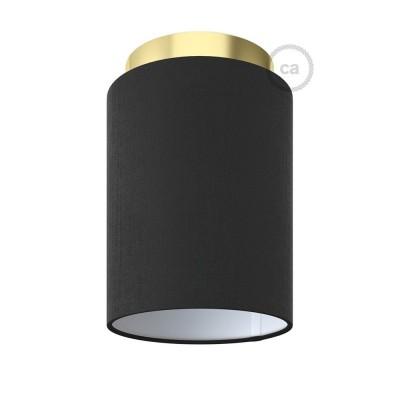 Fermaluce Glam s Cylinder sjenilom, metalna zidna ili stropna lampa