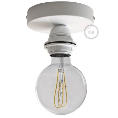 Fermaluce Monochrome s držačem žarulje navoja E27, metalna zidna ili stropna lampa