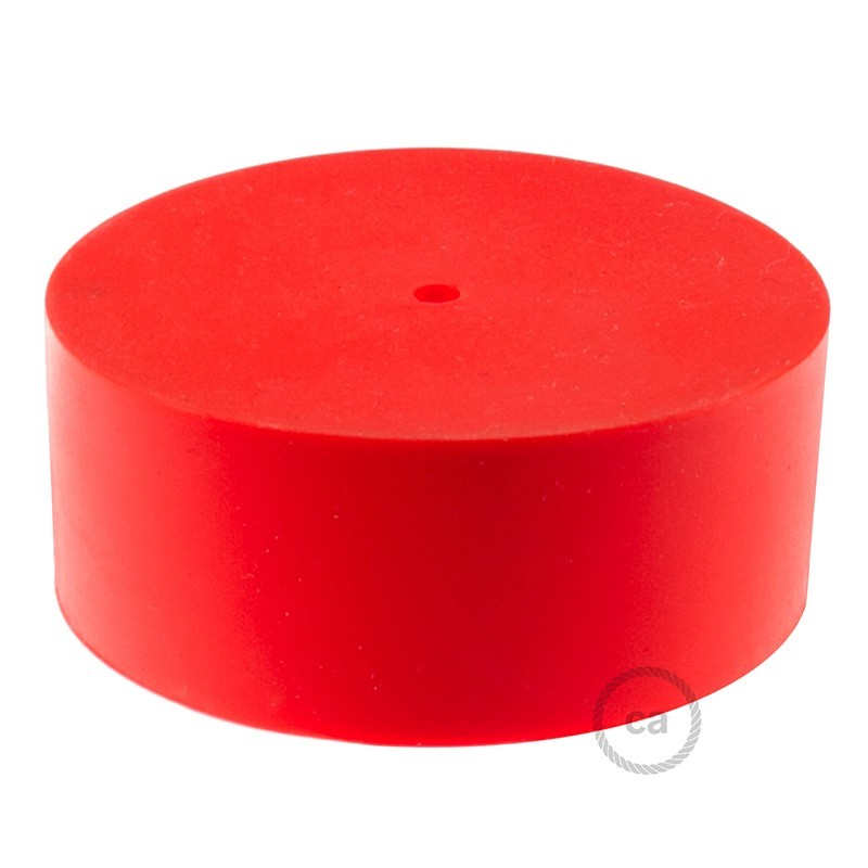 Silikonska stropna rozeta s priborom za montažu