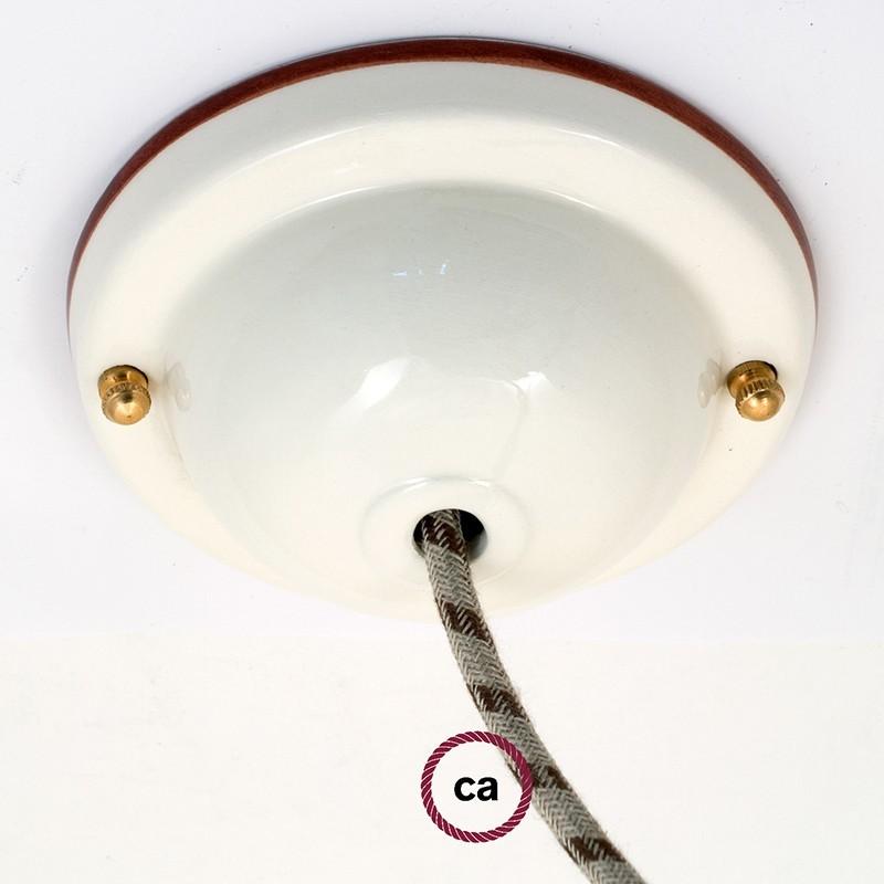 Keramička rozeta linije Deco-48 s priborom