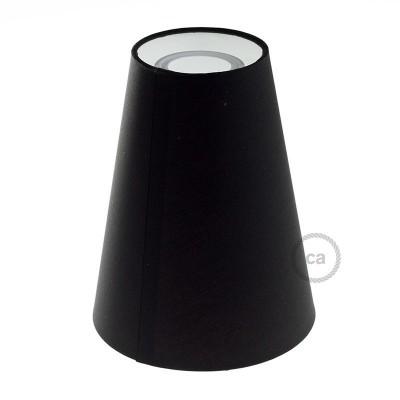 Sjenilo - konusno Truncated Cone tekstilno s grlom navoja E27, promjera 16cm h20cm - 100% Made in Italy