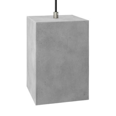Sjenilo - Cube cementno za visilicu i luster sa stezačem kabela i grlom navoja E27