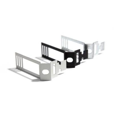 Bijeli metalni prilagodljivi držač za Creative-Tube