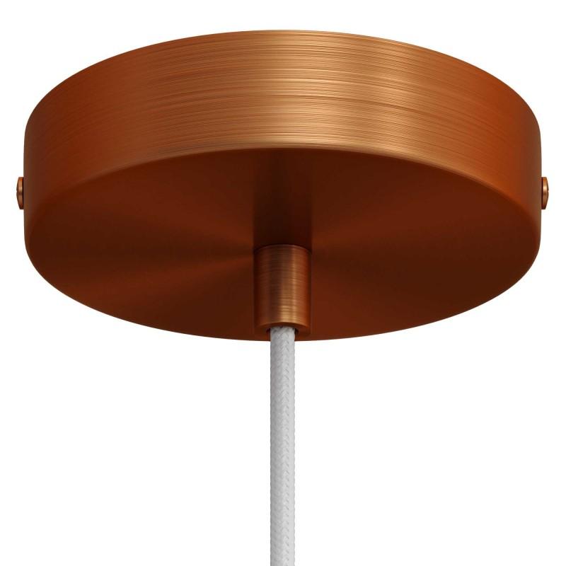 Visilica s tekstilnim kabelom i dijelovima od brušenog metala - Proizvedeno u Italiji