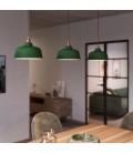 Visilica s tekstilnim kabelom, Cup keramičkim sjenilom i metalnim detaljima - Proizvedeno u Italiji