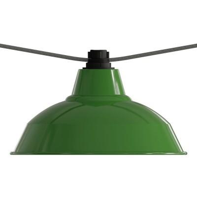 E27 crno termoplastično grlo s navojem za String Light, žarulje u nizu