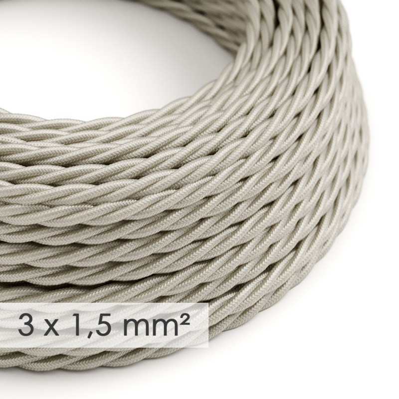 Zamotan kabel većeg presjeka (3x1,50) - slonovača TM00