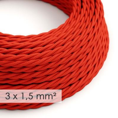 Zamotan kabel većeg presjeka (3x1,50) - crven TM09