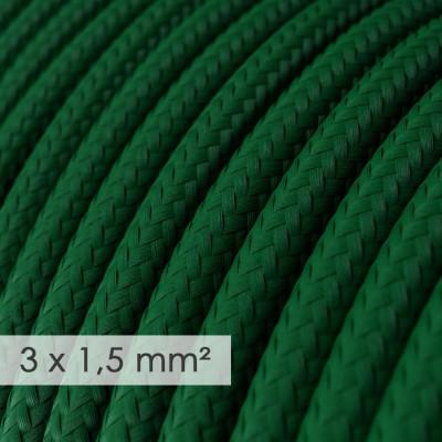 Okrugao kabel većeg presjeka (3x1,50) - tamno zeleni RM21