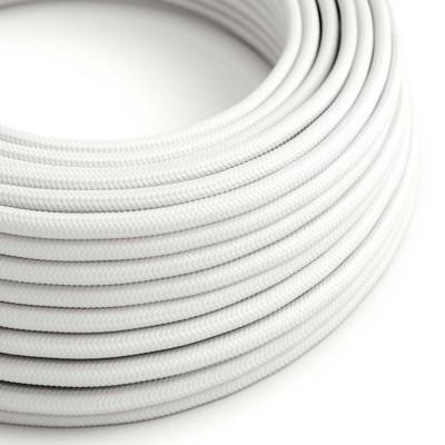 Okrugli tekstilni električni kabel RM01 - bijela