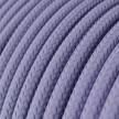 Okrugli tekstilni električni kabel RM07 - lila