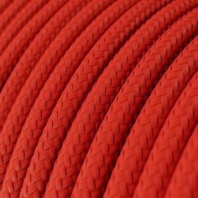 Okrugli tekstilni električni kabel RM09 - crvena