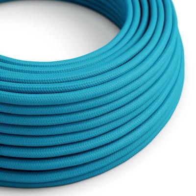 Okrugli tekstilni električni kabel RM11 - tirkizna