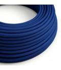 Okrugli tekstilni električni kabel RM12 - plava