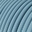 Okrugli tekstilni električni kabel RM17- Baby Blue