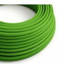 Okrugli tekstilni električni kabel RM18 - limeta zelena