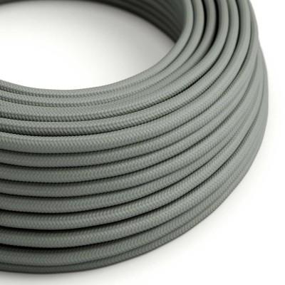 Okrugli tekstilni električni kabel RM03 - siva