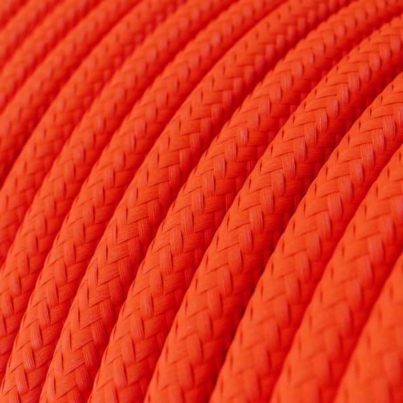 Okrugli električni kabel Fluo narančasta RF15
