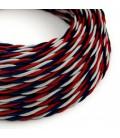 Zamotan tekstilni električni kabel TZUSA