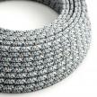 Okrugli tekstilni električni kabel - RX04 - Piksel ledena