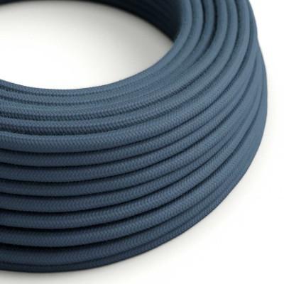 Okrugli električni kabel, kameno sivi pamuk, RC30