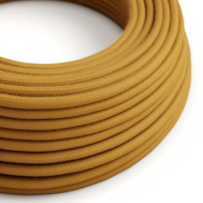 Okrugli električni kabel, medeno-zlatni pamuk, RC31