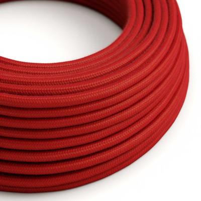 Okrugli električni kabel, vatreno crveni pamuk, RC35