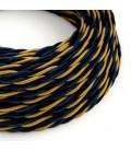 Zamotan tekstilni električni kabel Savoia TG09