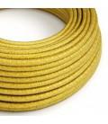 Okrugli električni tekstilni rayon kabel - RM31 Limun