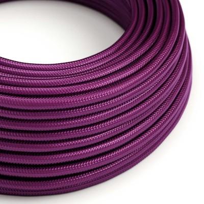 Okrugli električni tekstilni rayon kabel - RM35 Ultra ljubičasti