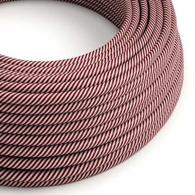Vertigo električni tekstilni kabel - pink & Maroon Flex ERM47