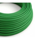 Vertigo električni tekstilni kabel - kivi & zeleni Flex ERM48